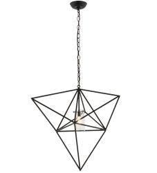 "29""W Geometric Pendant"