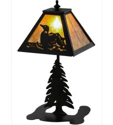 """15""""H Loon Accent Lamp"""