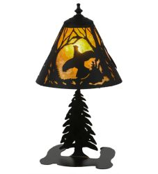 "17""H Ruffed Grouse Accent Lamp"