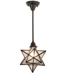 "10.5""W Moravian Star Pendant"