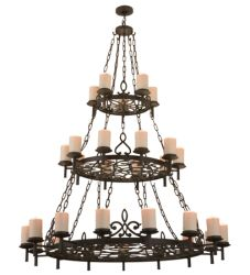 "62""W Newcastle 30 Lt Chandelier"