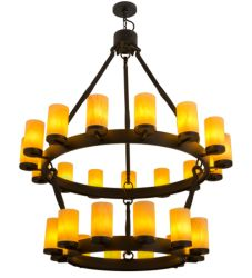 "48""W Noziroh Ring 27 Lt Two Tier Chandelier"