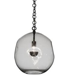 "15""W Deformado Globe Pendant"
