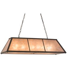 "48""L Tri-Panel Oblong Pendant"