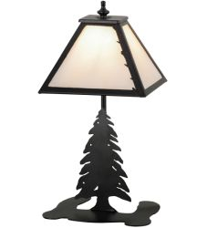 "15""H Leafs Edge Accent Lamp"