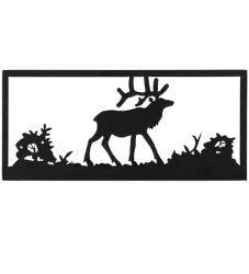 """18""""W Lone Elk Wall Art"""