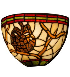 """8""""W Pinecone Wall Sconce"""