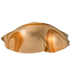 "17.5""W Metro Fusion Cognac Swirl Shade"
