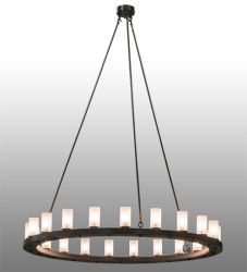 "60""W Loxley 21 Lt Chandelier"