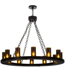 """42""""W Loxley 12 Lt Chandelier"""