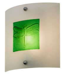 """11""""W Metro Fusion Wings Wall Sconce"""