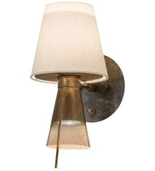 """7""""W Brewster Wall Sconce"""