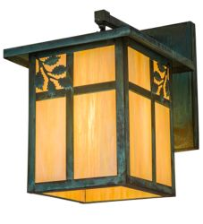 """12""""W Hyde Park Sprig Hanging Wall Sconce"""