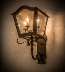 """12""""W Christian Wall Sconce"""