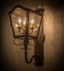 """10""""W Christian Wall Sconce"""