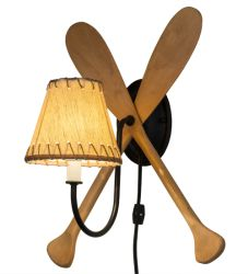 """14""""W Paddle Wall Sconce"""