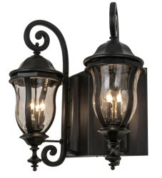 """33""""W Monticello 2 Lt Wall Sconce"""
