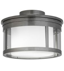 """15""""W Cilindro Campbell Flushmount"""