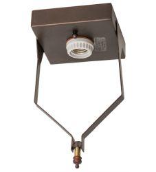 "5""Sq Mahogany Bronze Flushmount Hardware"