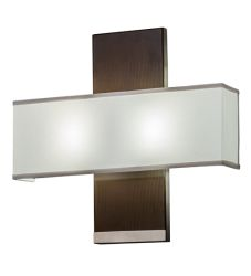 "20""W Lineal Intersect Wall Sconce"