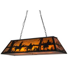 "48""L Personalized Rockin' C Ranch Oblong Pendant"
