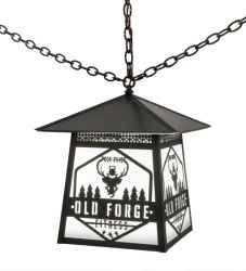 "16""Sq Personalized Fitness Pendant"