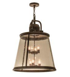 """26""""W Steadman Lantern Pendant"""