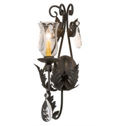 """9""""W French Elegance Wall Sconce"""