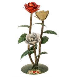 """7""""W Rosa Sculpture"""