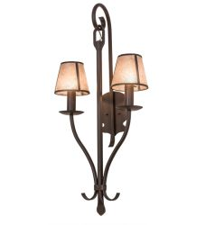"20""W Nehring 2 Lt Wall Sconce"