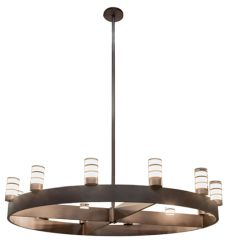 """94""""W Molle Cilindro 12 Lt Chandelier"""