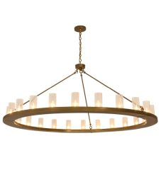 """72""""W Loxley 24 Lt Chandelier"""