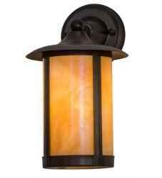 """8""""W Fulton Prime Solid Mount Wall Sconce"""