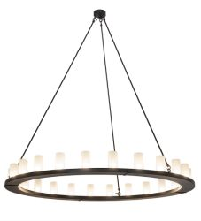 "72""W Loxley 24 Lt Chandelier"