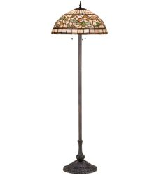 "63""H Turning Leaf Floor Lamp"