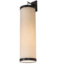 """10""""W Cilindro Textrene Hanging Wall Sconce"""