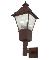 "16""W Carefree Lantern Wall Sconce"