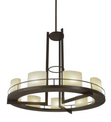 """68""""W Loxley Tac Air 9 Lt Chandelier"""