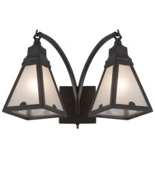 """18""""W Arnage 2 Lt Wall Sconce"""