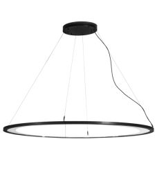 "61""L Anillo Ellipse Oblong Pendant"