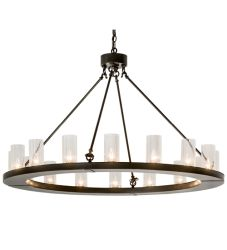 "48""W Loxley 16 Lt Chandelier"