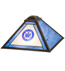 "13""Sq Personalized State Trooper Shade"
