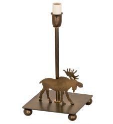 "10.5""H Lone Moose Table Base"