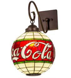 "12""W Coca-Cola Wall Sconce"