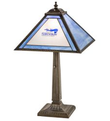 """22""""H Personalized Torch Run Table Lamp"""