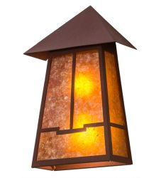 """12""""W Stillwater Valley View Wall Sconce"""