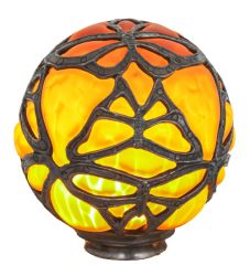 "6""W Castle Butterfly Orb Shade"
