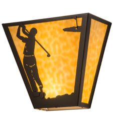 "13""W Golf Wall Sconce"