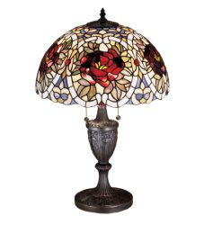 """24""""H Renaissance Rose Table Lamp"""