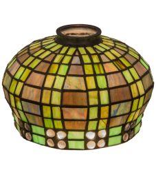 "7""W Jeweled Basket Shade"